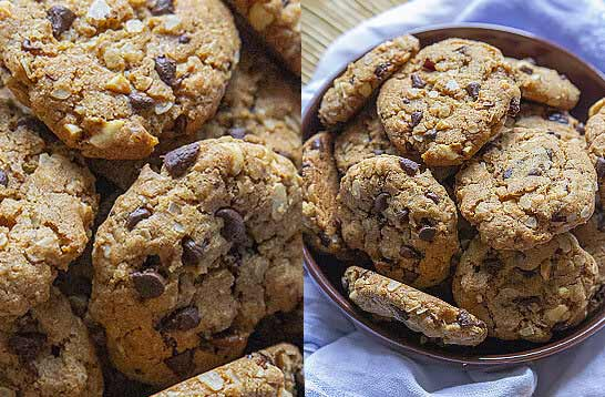 Cookies vegan aux flocons