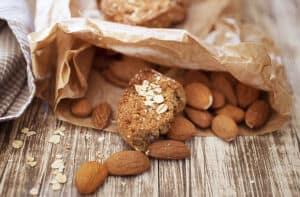Biscuits veagn amande et beurre de cacahuète